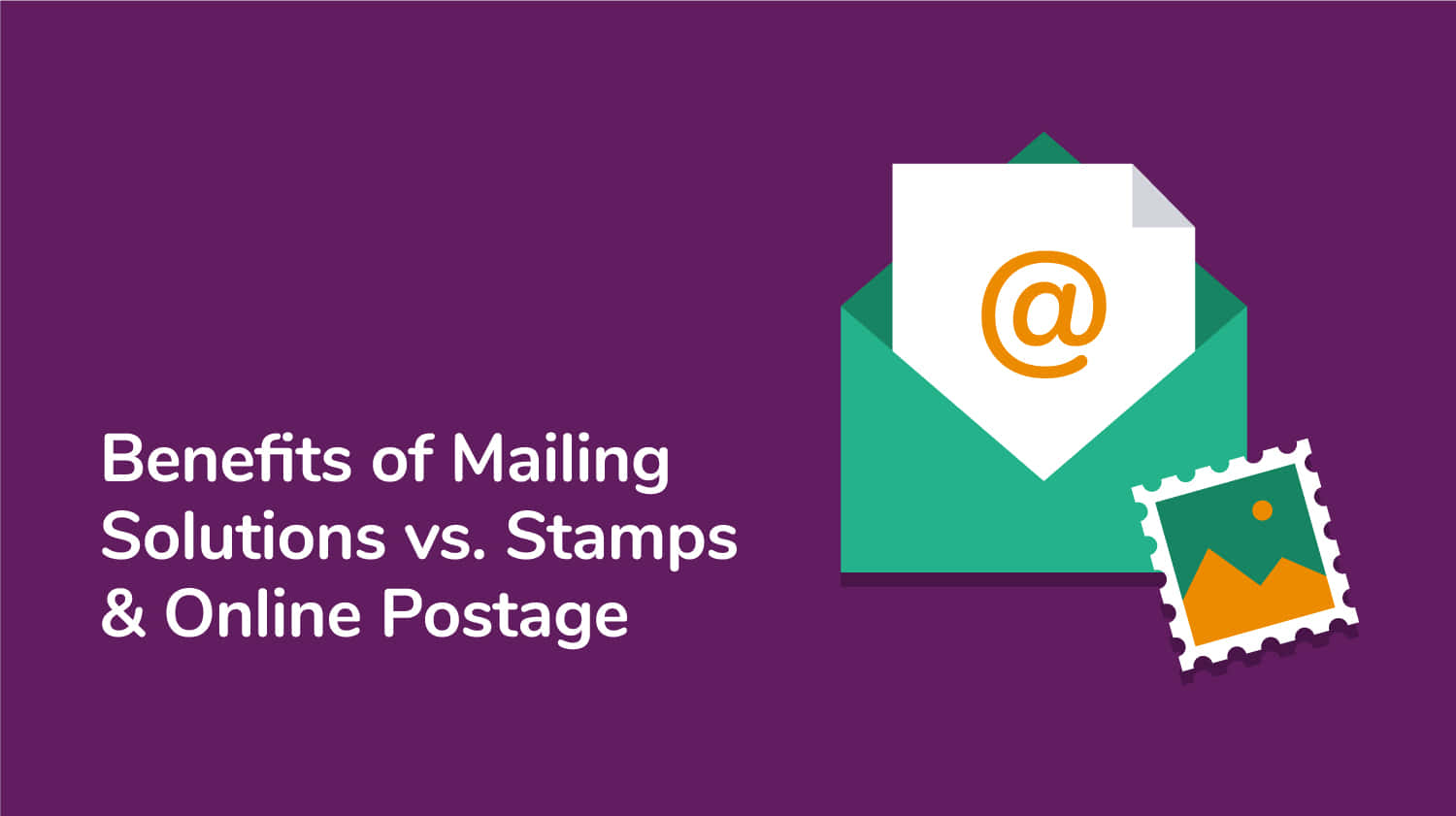 Mailing solutions vs Stamps